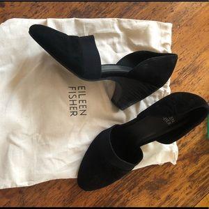 Eileen Fisher Black Heels